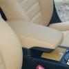 Бежевые авточехлы для сидений Toyota Camry №4