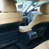 Бежевые авточехлы для сидений Toyota Camry №13