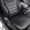 Черные каркасные авточехлы уровня перетяжки для сидений Toyota Camry 6 от prochehli.ru