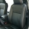 Черные авточехлы уровня перетяжки для Toyota Camry 7