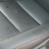 Черные авточехлы уровня перетяжки для Toyota Camry 7 №1