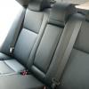 Черные авточехлы уровня перетяжки для Toyota Camry 7 №2