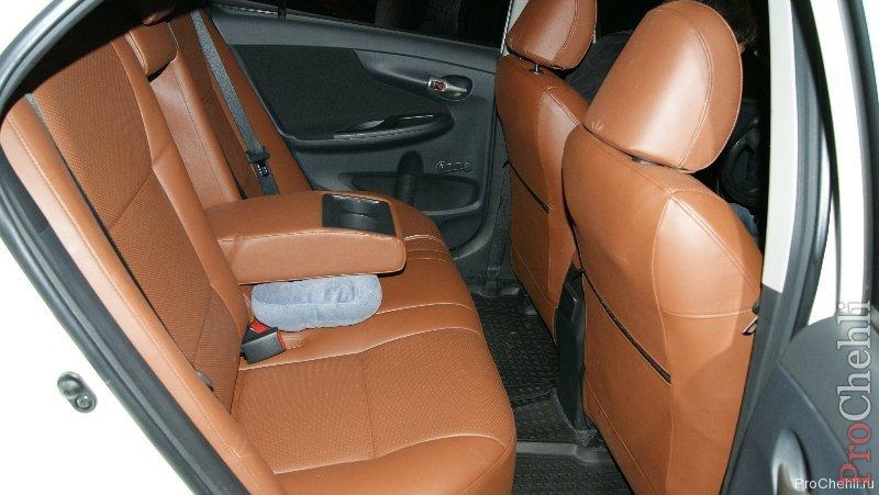 Чехлы для Toyota Corolla