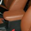 Коричневые авточехлы уровня перетяжки для Toyota Corolla №1