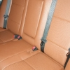 Коричневые авточехлы уровня перетяжки для Toyota Corolla №2