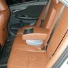 Коричневые авточехлы уровня перетяжки для Toyota Corolla №5