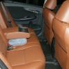 Коричневые авточехлы уровня перетяжки для Toyota Corolla №6