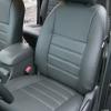 Серые авточехлы из экокожи для Toyota Hilux 2013 №2