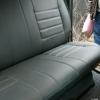 Серые авточехлы из экокожи для Toyota Hilux 2013 №4