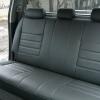 Серые авточехлы из экокожи для Toyota Hilux 2013 №7
