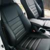 Чехлы для Toyota Rav 4 из черной  экокожи №2