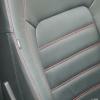 Черные чехлы с красной строчкой для Volkswagen Jetta 6 Highline №3