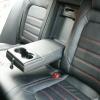 Черные чехлы с красной строчкой для Volkswagen Jetta 6 Highline №7