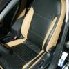 Черно-бежевые авточехлы для Volkswagen Jetta