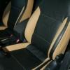 Черно-бежевые авточехлы для Volkswagen Jetta №1