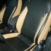 Черно-бежевые авточехлы для Volkswagen Jetta №2