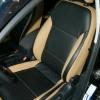 Черно-бежевые авточехлы для Volkswagen Jetta №3