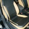 Черно-бежевые авточехлы для Volkswagen Jetta №4