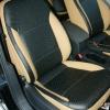 Черно-бежевые авточехлы для Volkswagen Jetta №5