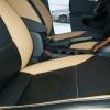 Черно-бежевые авточехлы для Volkswagen Jetta №6