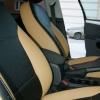 Черно-бежевые авточехлы для Volkswagen Jetta №7