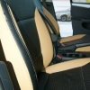 Черно-бежевые авточехлы для Volkswagen Jetta №8