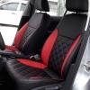Черно-красные авточехлы для Volkswagen Jetta №3