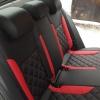 Черно-красные авточехлы для Volkswagen Jetta Trendline №6