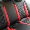 Черно-красные авточехлы для Volkswagen Jetta Trendline №7
