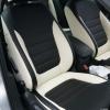 Черно-белые авточехлы для VolksWagen Jetta 6 Comfortline
