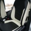 Черно-белые авточехлы для VolksWagen Jetta 6 Comfortline №12