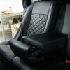 Чехлы для Nissan X-Trail 2 из экокожи с отстрочкой ромб №8