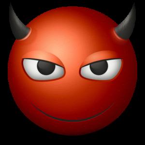 Devil Red - иллюстрация к статье о красно черных чехлах
