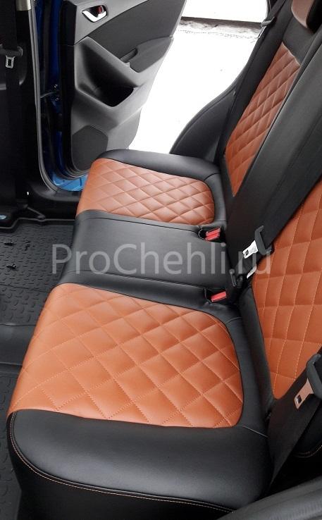 Авточехлы из экокожи CX-5