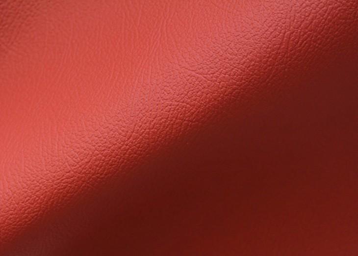 Красная премиум экокожа Дакота для пошива авточехлов на микрофибре