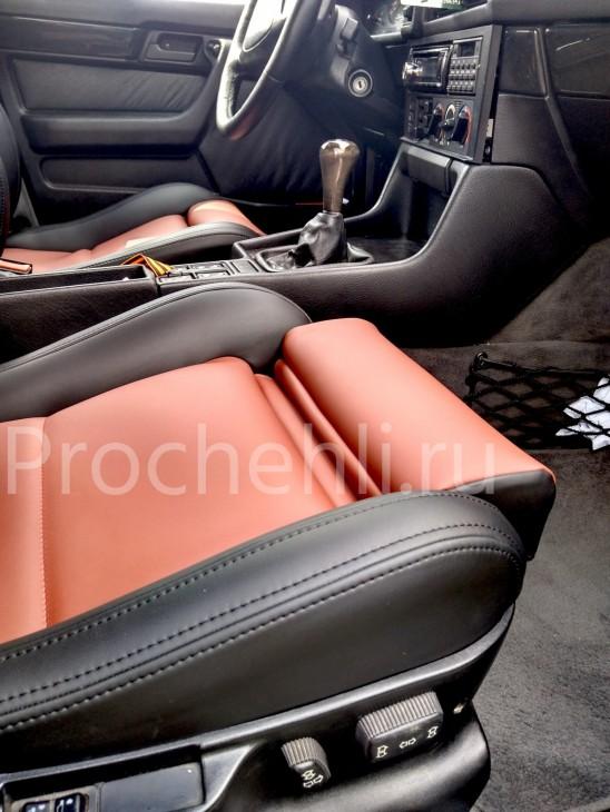 Чехлы BMW 5-er E34 салон MotorSport с эффектом перетяжки №4