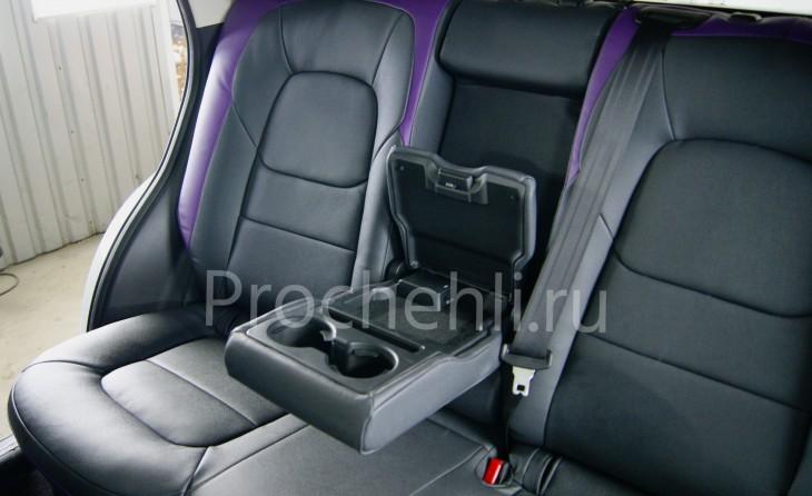 Каркасные чехлы для Mazda CX-5 (2 поколение) из экокожи Дакота №5