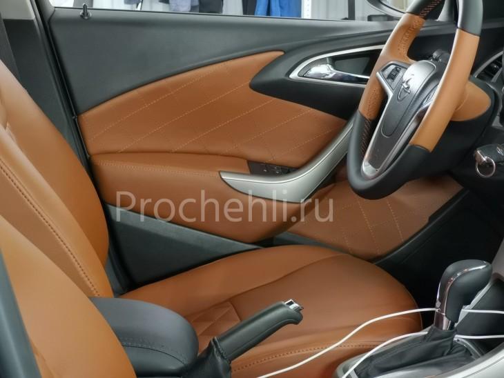Перешив руля для Opel Astra J