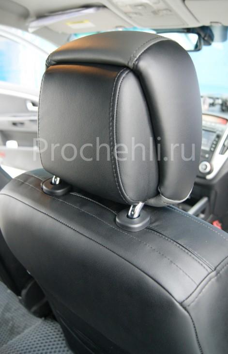 Авточехлы из экокожи на Kia Ceed №6