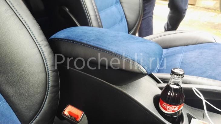 Чехлы на Kia Ceed Pro 1 с эффектом перетяжки №2