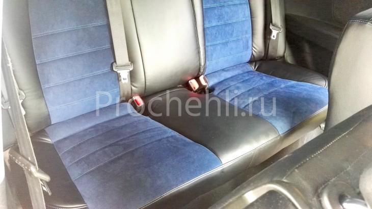 Чехлы на Kia Ceed Pro 1 с эффектом перетяжки №6