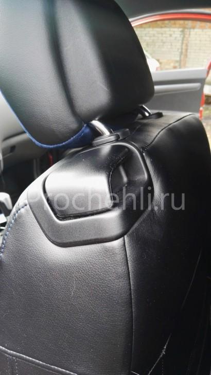 Чехлы на Kia Ceed Pro 1 с эффектом перетяжки №5