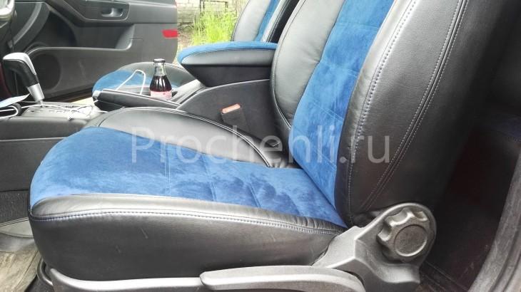 Чехлы на Kia Ceed Pro 1 с эффектом перетяжки №3