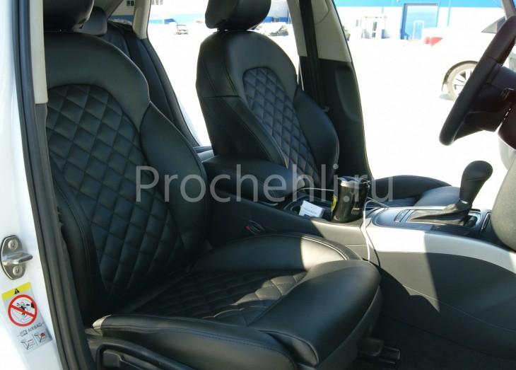 Чехлы на Audi A4 B8 со спорт-сиденьями №1