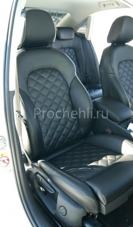 Чехлы на Audi A4 B8 со спорт-сиденьями №2