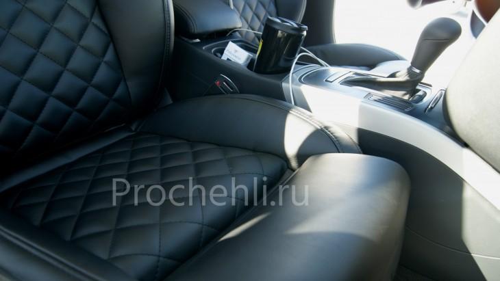 Чехлы на Audi A4 B8 со спорт-сиденьями №3