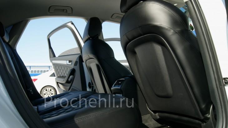 Чехлы на Audi A4 B8 со спорт-сиденьями №4