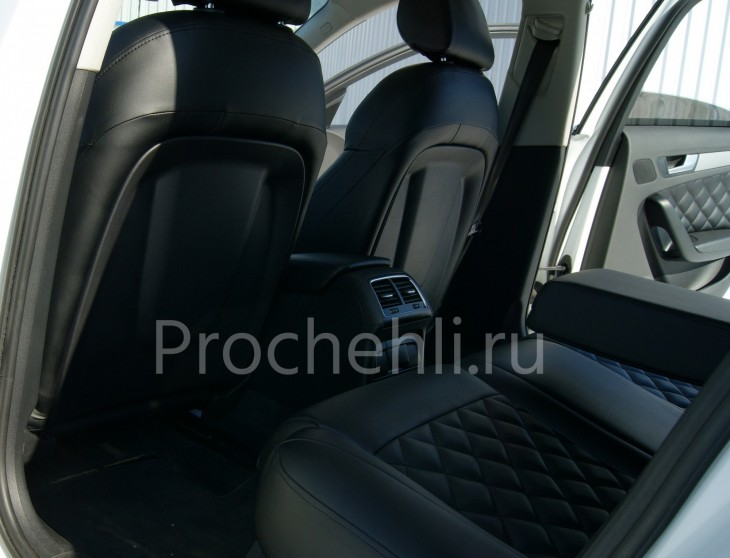 Чехлы на Audi A4 B8 со спорт-сиденьями №6