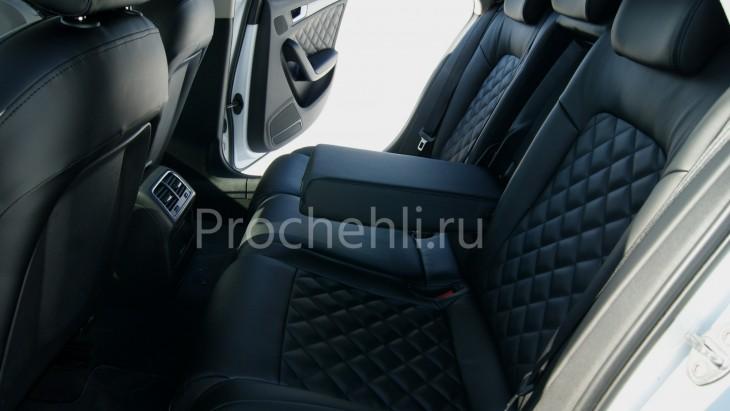 Чехлы на Audi A4 B8 со спорт-сиденьями №9