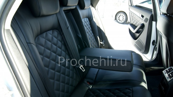 Чехлы на Audi A4 B8 со спорт-сиденьями №10